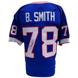 Bruce Smith Signed Bills Pro-Style Jersey (JSA COA)