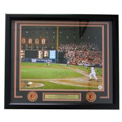 "Cal Ripken Jr. Signed Orioles ""2131""  22x27 Framed Photo Display (JSA COA)"