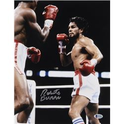 Roberto Duran Signed 11x14 Photo (Beckett COA)