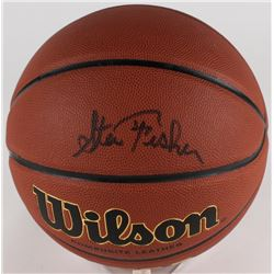 Steve Fisher Signed Basketball (JSA COA)