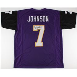 David Johnson Signed Northern Iowa Pathers Jersey (JSA)