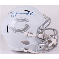 Jordan Howard Signed Bears Full-Size Speed ICE Helmet (JSA COA)