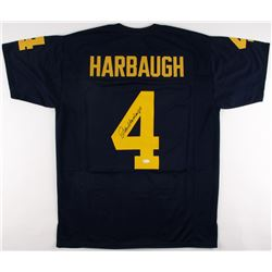 Jim Harbaugh Signed Michigan Wolverines Jersey (JSA COA)
