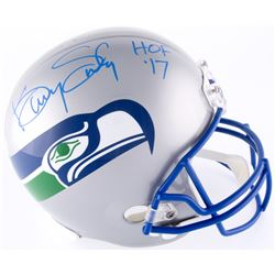 "Kenny Easley Signed Seahawks Full-Size Helmet Inscribed ""HOF '17"" (JSA COA)"