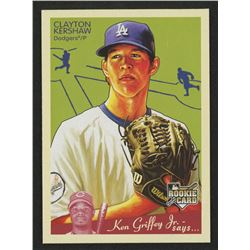 2008 Upper Deck Goudey #75 Clayton Kershaw RC