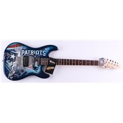 Tom Brady Signed LE Patriots Electric Guitar (Steiner COA  TriStar)
