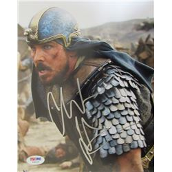 "Christian Bale Signed ""Exodus: Gods and Kings"" 8x10 Photo (PSA Hologram)"