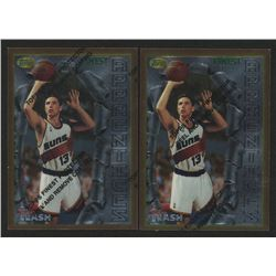 Lot of (2) 1996-97 Finest #75 Steve Nash B RC