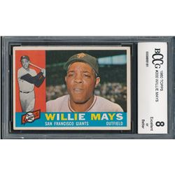 1960 Topps #200 Willie Mays (BCCG 8)