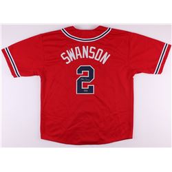 Dansby Swanson Signed Braves Jersey (Radtke COA)