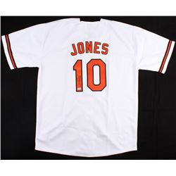 Adam Jones Signed Orioles Jersey (Hollywood Collectibles COA)