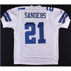 "Deion Sanders Signed Cowboys Jersey Inscribed ""HOF 2011"" (Radtke COA  Sanders Hologram)"