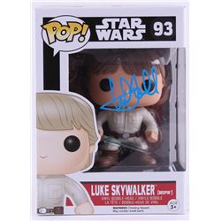 "Mark Hamill Signed ""Luke Skywalker"" Star Wars POP! Vinyl Figure (Radtke COA)"
