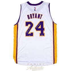 "Kobe Bryant Signed Lakers Jersey Inscribed ""5x Champ"" (Panini COA)"
