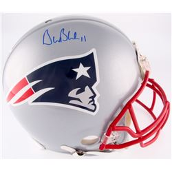 Drew Bledsoe Signed Patriots Full-Size Authentic On-Field Helmet (Steiner COA)