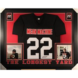 "Burt Reynolds Signed ""The Longest Yard"" Mean Machine 44x36 Custom Framed Jersey (Beckett)"