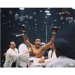 Muhammad Ali Signed 16x20 Photo (PSA LOA)
