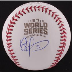 Albert Almora Jr. Signed Official 2016 World Series Baseball (Schwartz COA)