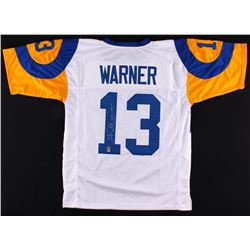 "Kurt Warner Signed Rams Jersey Inscribed ""HOF 17"" (Warner Hologram)"