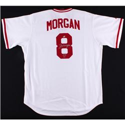 "Joe Morgan Signed Reds Jersey Inscribed ""HOF '90"" (Radtke COA)"