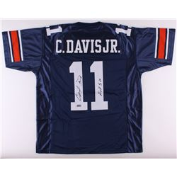 "Chris Davis Signed Auburn Jersey Inscribed ""Kick Six"" (Radtke COA)"