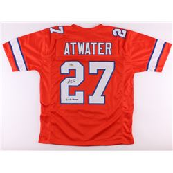 "Steve Atwater Signed Broncos Jersey Inscribed ""2X SB Champs"" (Radtke COA)"