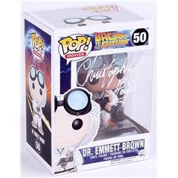 "Christopher Lloyd Signed Back To The Future ""Dr. Emmett Brown"" Funko Pop Figure (JSA COA)"