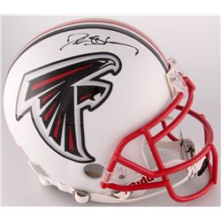 Deion Sanders Signed Falcons Custom Matte White Full-Size Authentic On-Field Helmet (Radtke COA)