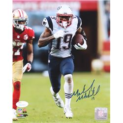 Malcolm Mitchell Signed Patriots 8x10 Photo (JSA COA)