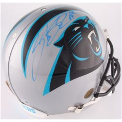 Steve Smith Sr. Signed Panthers Full-Size Authentic On-Field Helmet (Smith Hologram  COA)