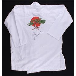 "Ralph Macchio Signed ""Karate Kid"" Uniform Shirt (JSA COA)"