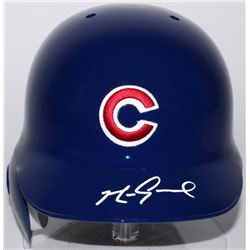 Mark Grace Signed Cubs Authentic Full-Size Batting Helmet (Radtke COA)