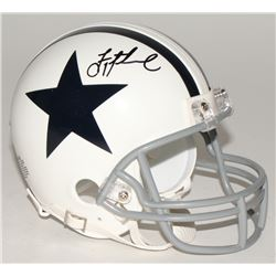 Troy Aikman Signed Cowboys Mini-Helmet (Aikman Hologram)