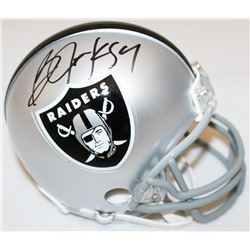 Bo Jackson Signed Raiders Mini-Helmet (Jackson Hologram)