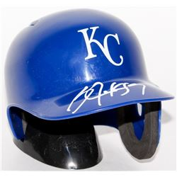 Bo Jackson Signed Royals Mini Batting Helmet (Jackson Hologram)
