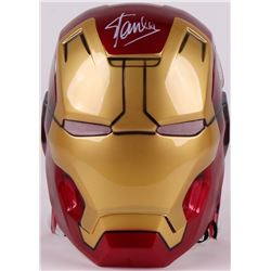 "Stan Lee Signed Full Size Marvel ""Iron Man"" Mask (Lee Hologram)"