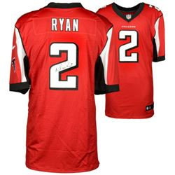 Matt Ryan Signed Falcons Authentic Jersey (Fanatics)