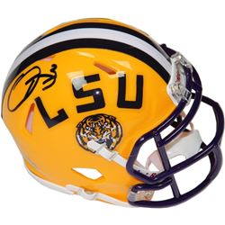 Odell Beckham Jr. Signed LSU Tigers Mini Speed Helmet (Steiner COA)