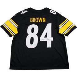 Antonio Brown Signed Steelers Jersey (Steiner COA)