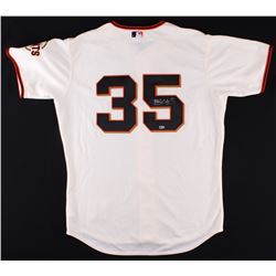 Brandon Crawford Signed Giants Authentic Majestic Jersey (MLB Hologram)