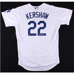 Clayton Kershaw Signed Dodgers Authentic Majestic Jersey (MLB Hologram)