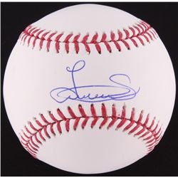 Luis Severino Signed OML Baseball (MLB Hologram)