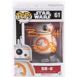 "Brian Herring Signed ""Star Wars"" BB-8 #61 Funko Pop! Vinyl Figure Inscribed ""BB-8"" with Original BB-"