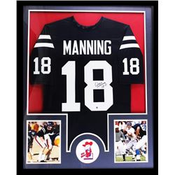 "Archie Manning Signed Ole Miss Rebels 34"" x 42"" Custom Framed Jersey (Steiner Hologram)"
