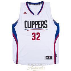 Blake Griffin Signed Clippers Jersey (Panini COA)