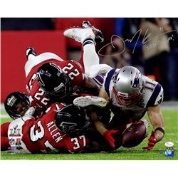 "Julian Edelman Signed Patriots Super Bowl 51 16x20 Photo Inscribed ""SB 51 Champs!"" (Steiner COA)"