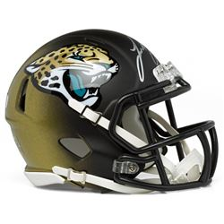 Leonard Fournette Signed Jaguars Mini Speed Helmet (Panini COA)