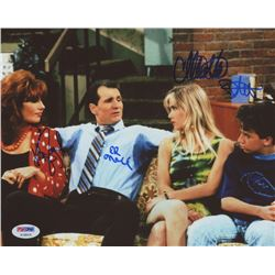 Married with Children  8x10 Photo Signed by (4) with Christina Applegate, Katey Sagal, Ed O'Neill