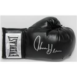 Thomas Hearns Signed Everlast Boxing Glove (JSA COA)
