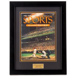 Original First Issue Sports Illustrated 14x18 Custom Framed Magazine Display from August 16, 1954